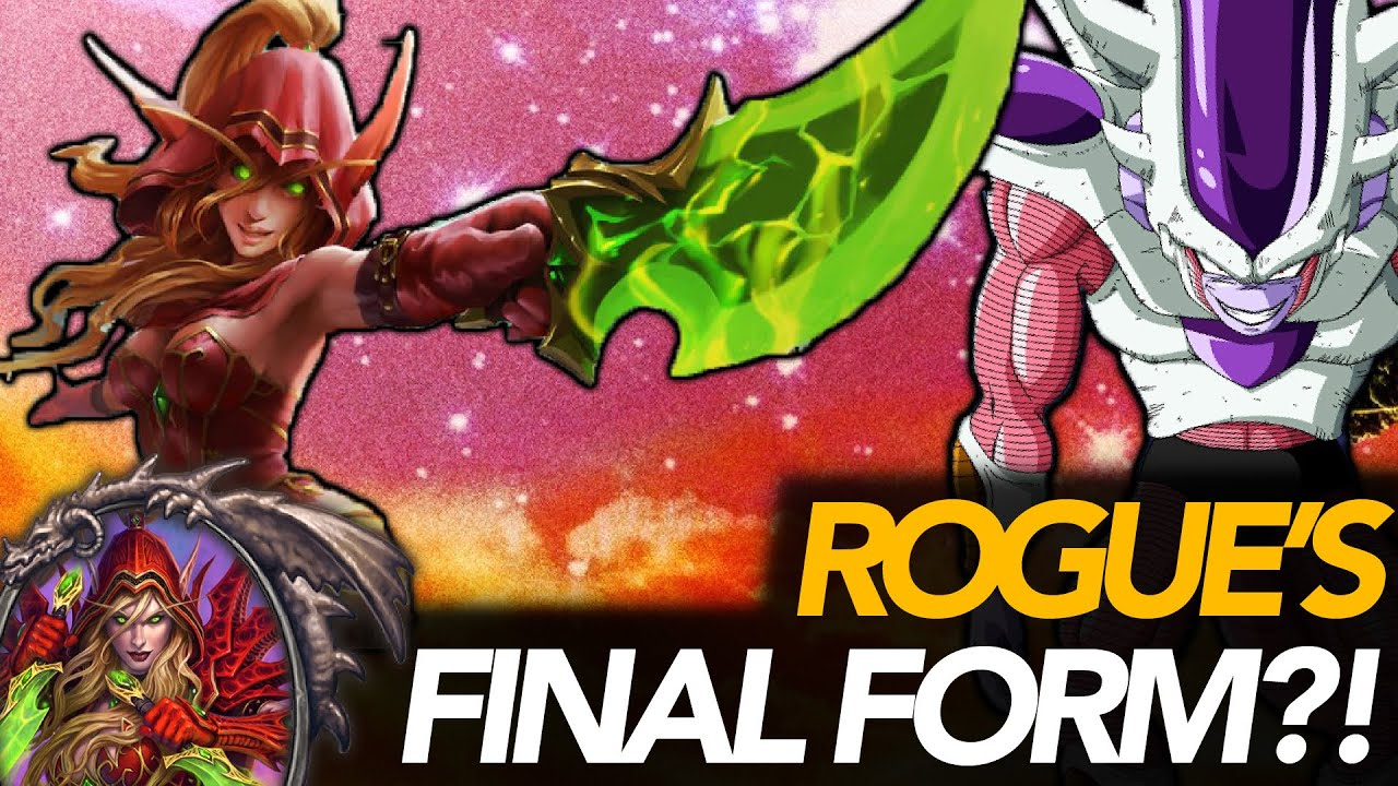 FINAL FORM Rogue!? Stealth, Galakrond, Secrets & Tempo | Ashes Of Outland | Hearthstone