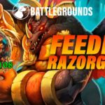 Feeding Razorgore | Dogdog Hearthstone Battlegrounds