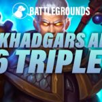 Finding 4 Khadgars and 16 Triples | Dogdog Hearthstone Battlegrounds