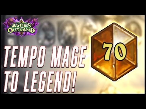 Getting Legend with a new Tempo Mage deck!