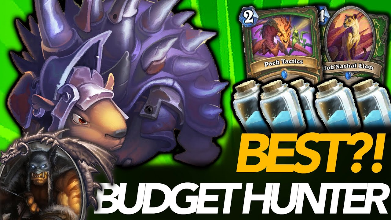 Going Face Just Wins!   Best Budget Hunter Deck?!   Ashes Of Outland   Hearthstone