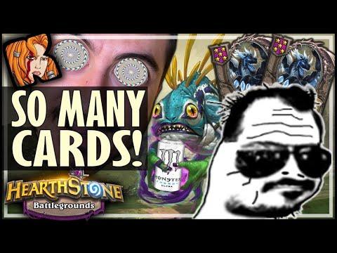 HAND TOO FULL IN BG?! - Hearthstone Battlegrounds