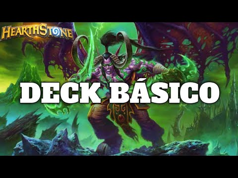 HEARTHSTONE - DECK BÁSICO! (STANDARD BASIC DEMON HUNTER)