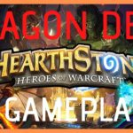 HEARTHSTONE DRAGON DECK 4 MAGE GAMEPLAY! I Burak Topçuoğlu  (1080P60FPS)