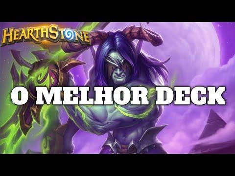 HEARTHSTONE - O MELHOR DECK! (STANDARD TEMPO DEMON HUNTER)