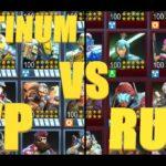 HERO HUNTERS #pvp platinum vs ruby