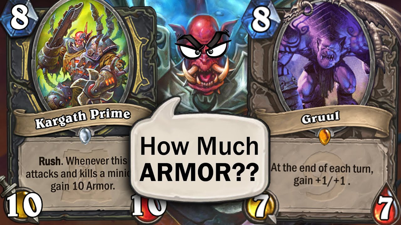 HOW MUCH ARMOR CAN ROGUE GET?? Multiple Kargath Primes is Busted!!   Ashes of Outland   Hearthstone