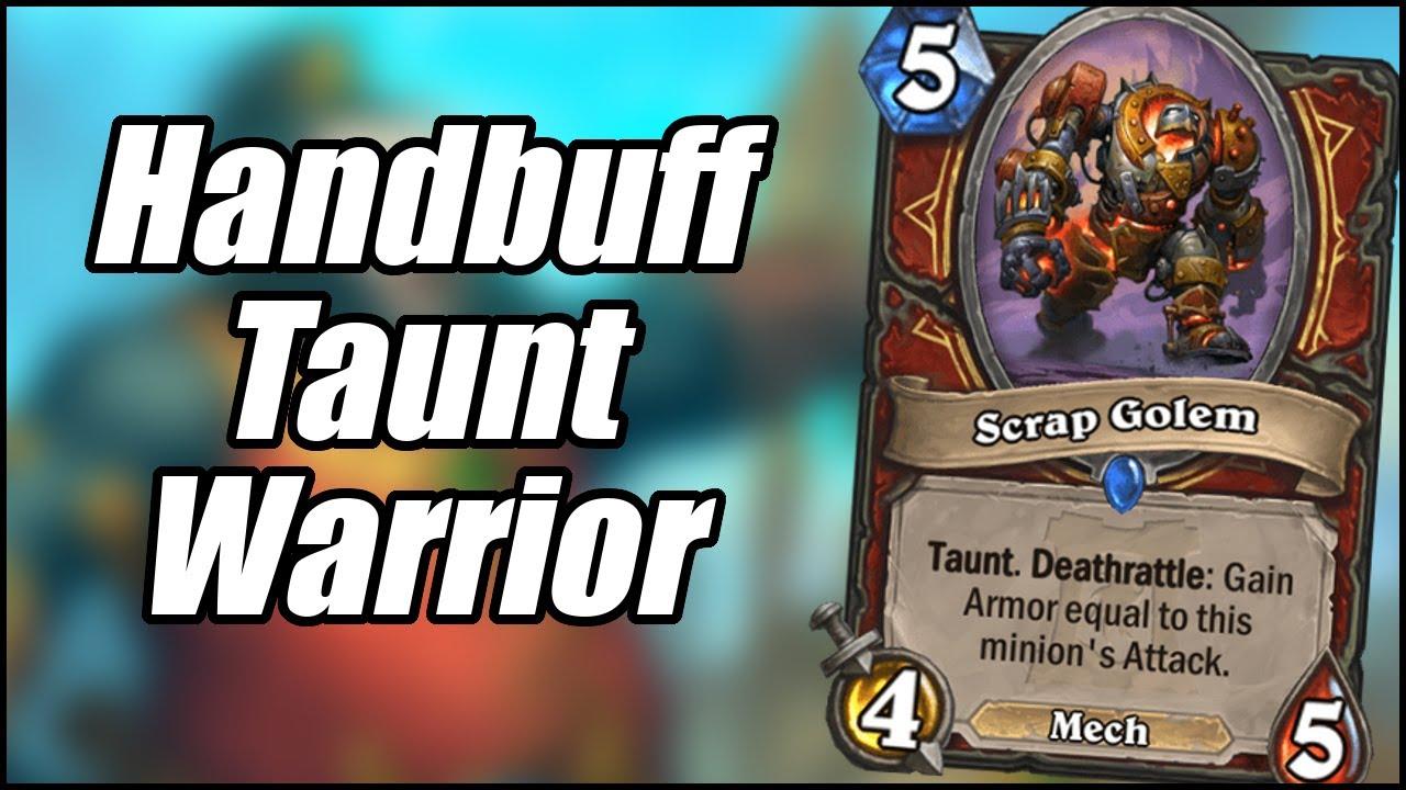 Handbuff Taunt Warrior | Ashes of Outland | Hearthstone