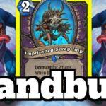 Handbuff Warlock OTK! Imprisoned Scrap Imp Combo! | Hearthstone