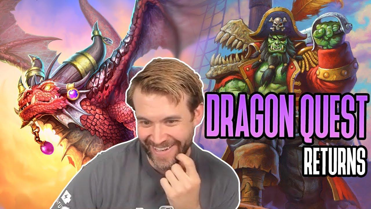 (Hearthstone) Dragon Quest Returns