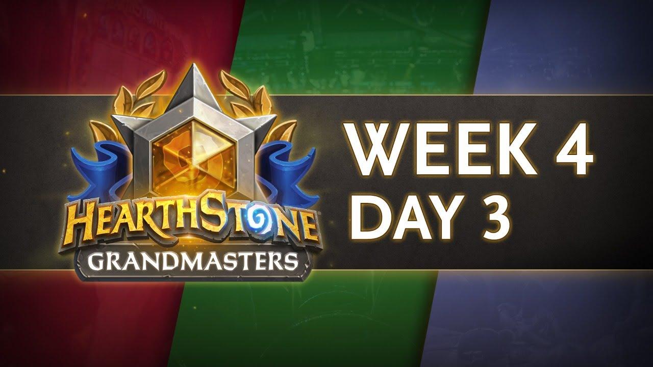Hearthstone Grandmasters Season 1 Week 4 Day 3