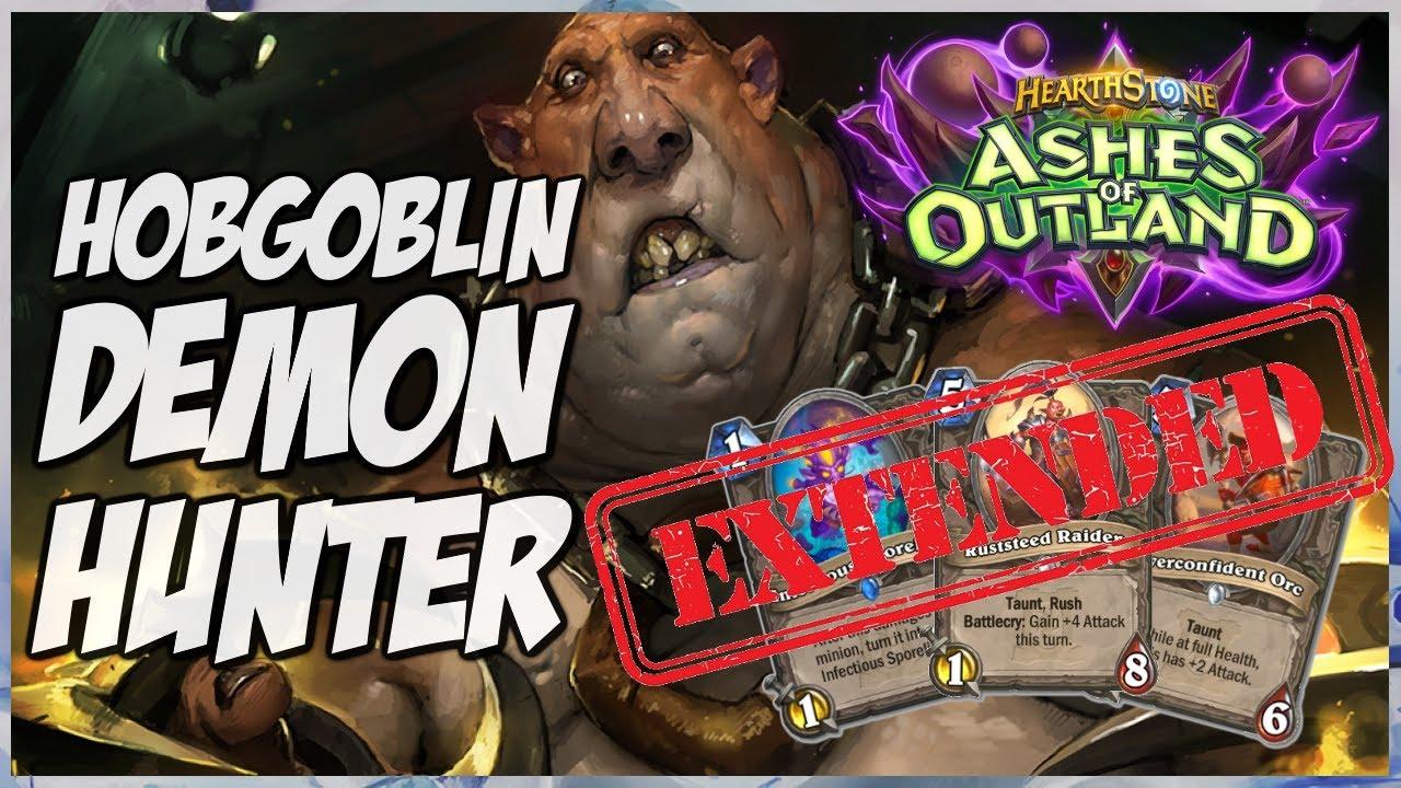 Hearthstone | Hobgoblin Demon Hunter | Extended Gameplay | Ashes of Outlands