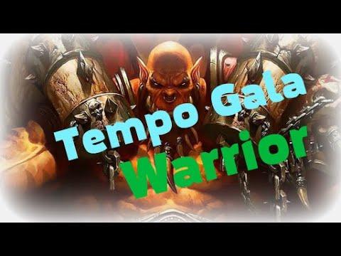 Hearthstone Tempo Gala Warrior. Галакронд воин быстрый темп колода