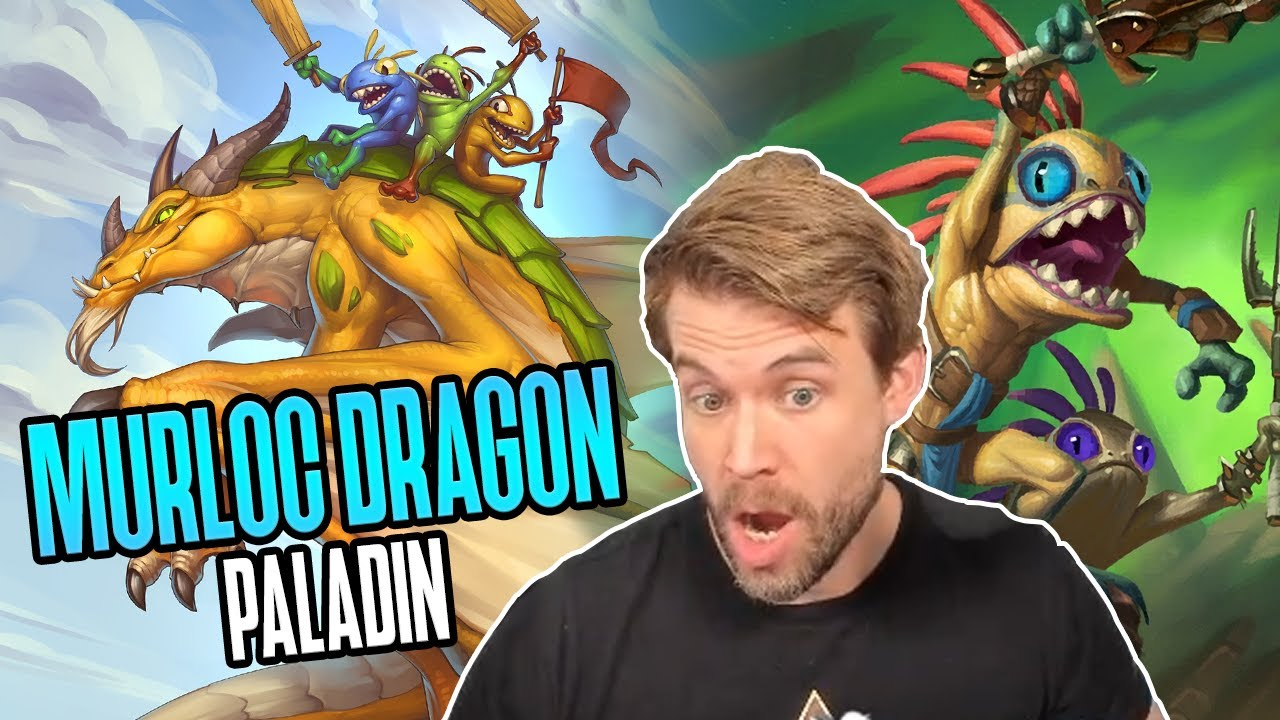 (Hearthstone) The Adventures of Murloc Dragon Paladin