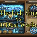 Hearthstone: The Lich King with a 480 Dust Warlock Deck
