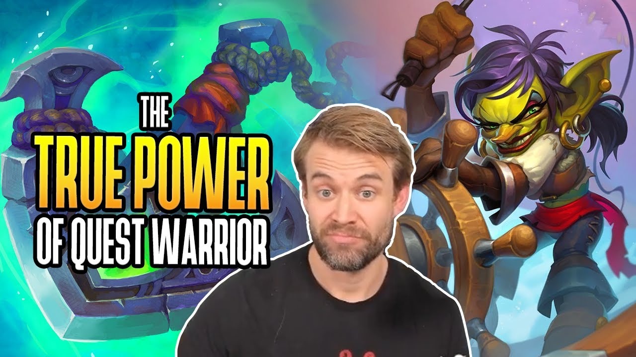 (Hearthstone) The True Power of Quest Warrior