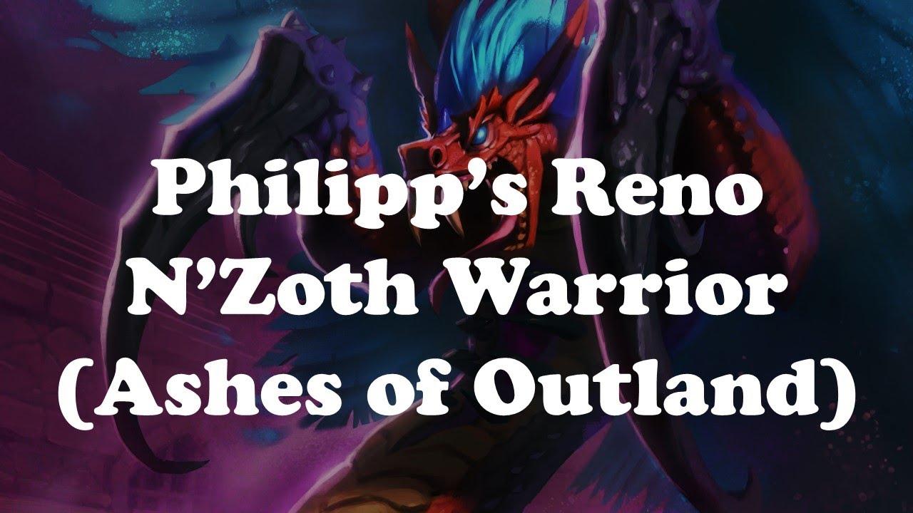 Hearthstone [WILD] Philipp's Reno N'Zoth Warrior: Top-deck miracles again and again... (1080p)