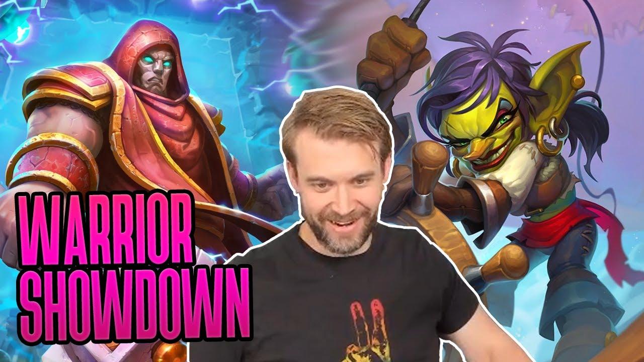 (Hearthstone) Warrior Showdown: Quest VS Egg