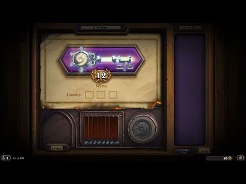 Heartstone Game (Make best Arena Deck)