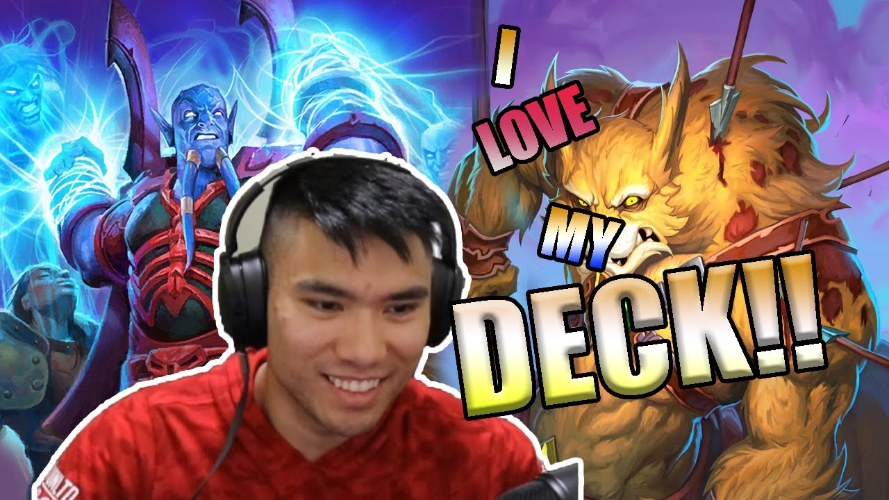 I DON'T AGREE WITH HIS DECK... || Hearthstone