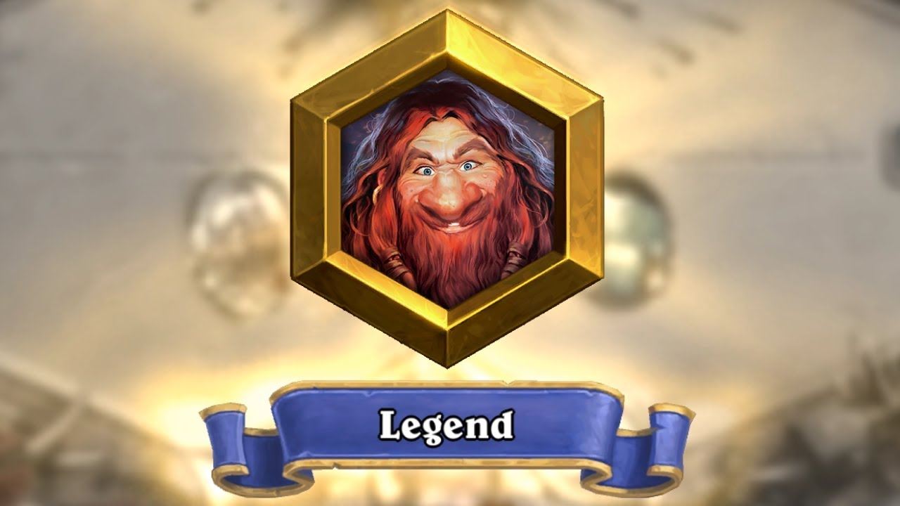I Reached Legend in Hearthstone After 5 Long Years
