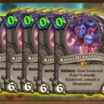Infinite Kronx OTK Tempo Galakrond Secret Rogue | Ashes of Outland New Combos | Hearthstone