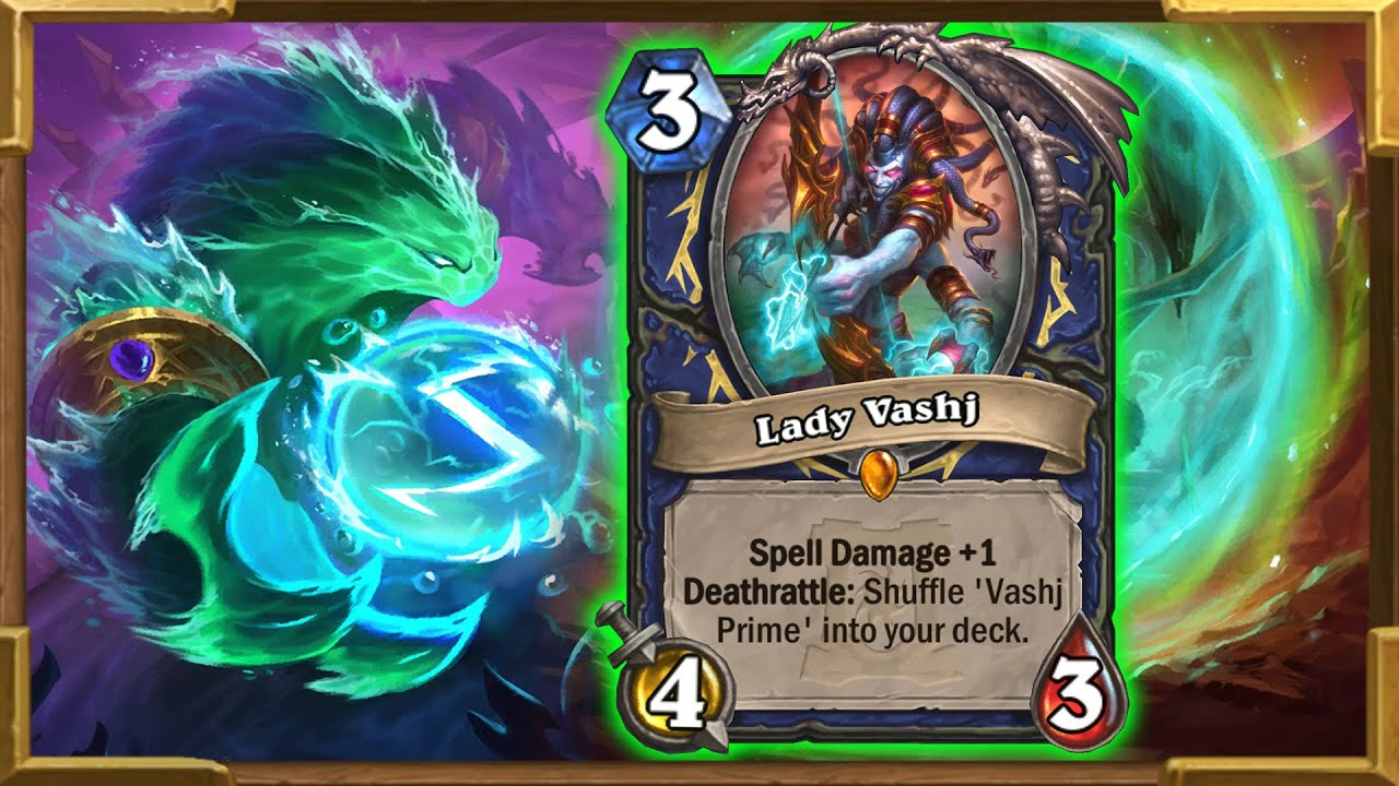 Lady Vashj Loves Highlander Prime Shaman | Is A Control Deck | Ashes of Outland | Hearthstone