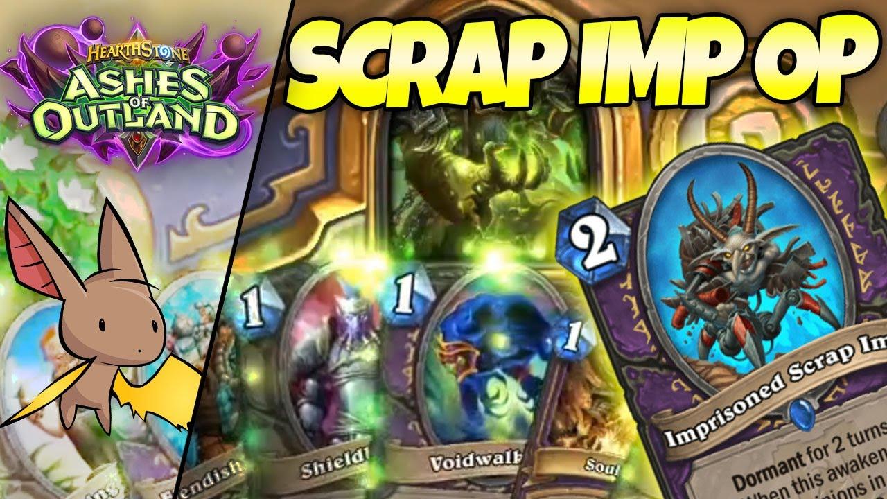 Learning Scrap Imp is INSANE in Zoo Warlock w/ Gallon   Firebat Hearthstone