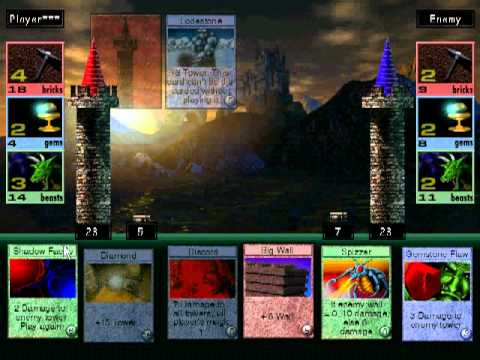 Might and Magic VII Arcomage game