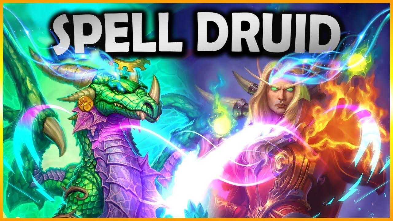 Mini-guida: Top 200 SPELL Druid, uno dei deck più richiesti! | Hearthstone Ita
