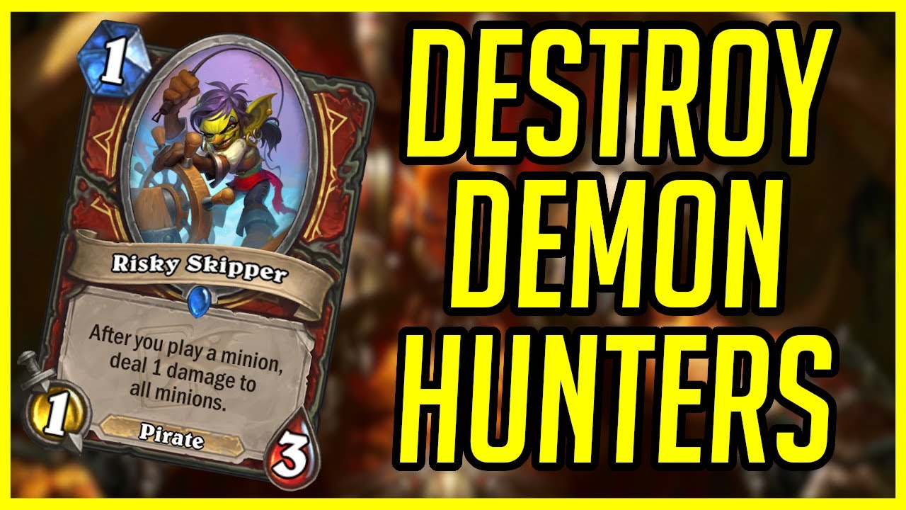 Must Play Deck to Beat Demon Hunter   Hearthstone      Ashes of Outland