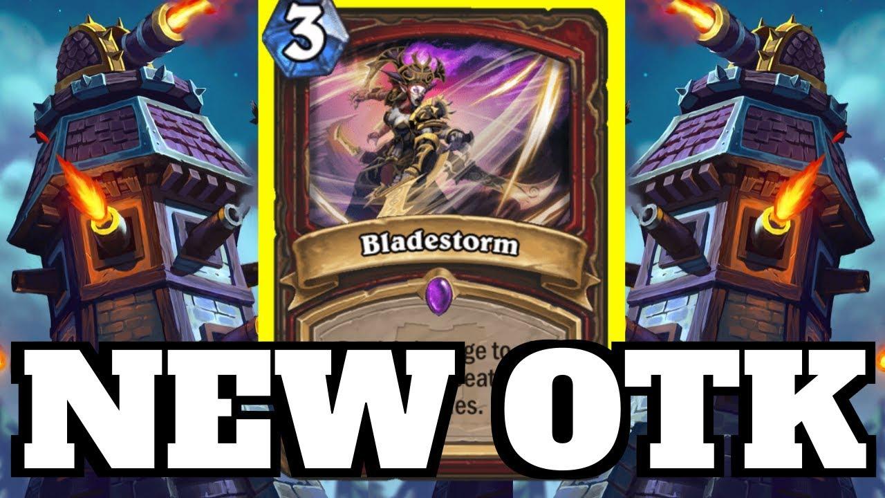 NEW Blackhowl Gunspire OTK! Bladestorm Combo! | Hearthstone