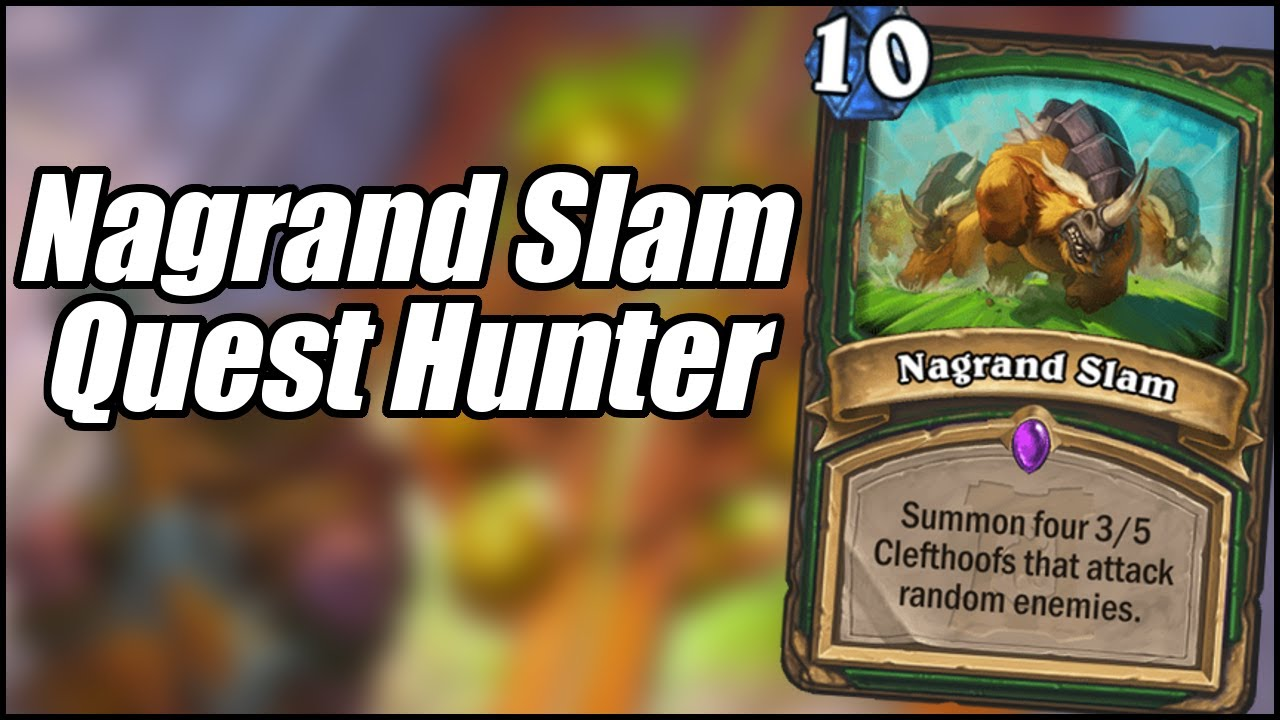 Nagrand Slam Quest Hunter   Ashes of Outland   Hearthstone