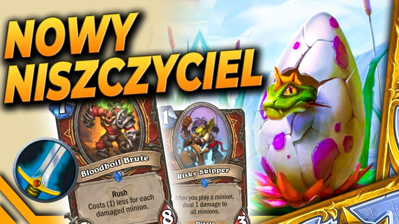Nowy NISZCZYCIEL mety! - Egg Warrior - Hearthstone Deck (AoU, drugi patch)