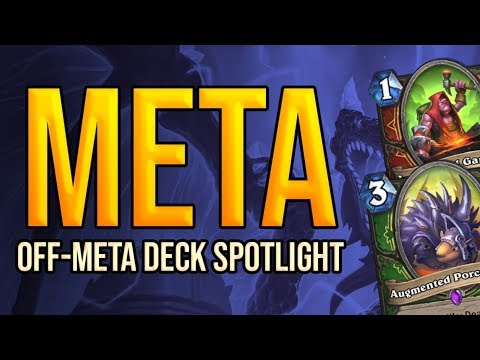 Off-Meta Wild Deck Spotlight | Ashes of Outland | Wild Hearthstone
