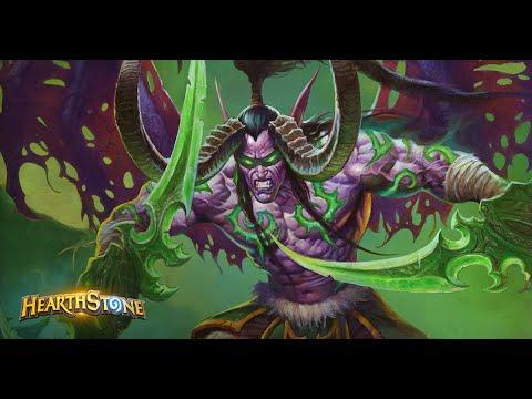 Охотник на демонов ( Нетрандамус ),против Зефрис Маг ,Hearthstone ,
