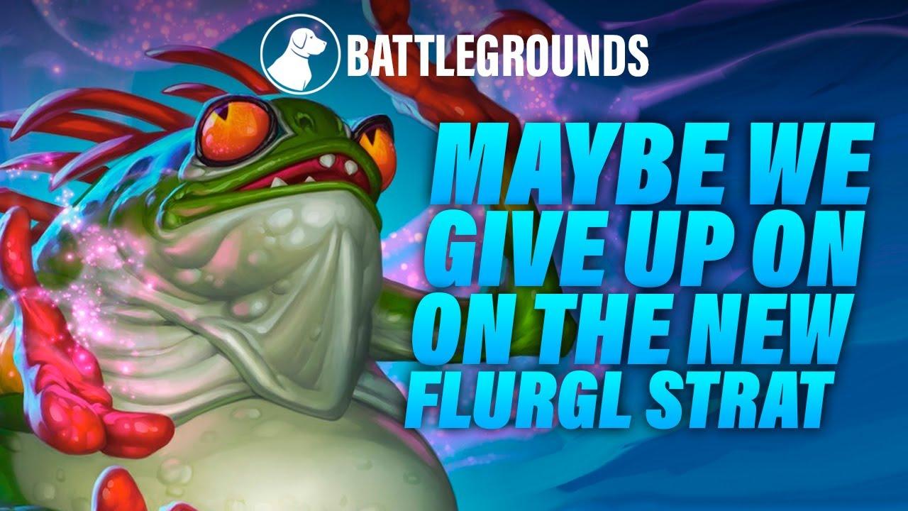 Okay Maybe We Give up on the Fungalmancer Flurgl Strategy | Dogdog Hearthstone Battlegrounds