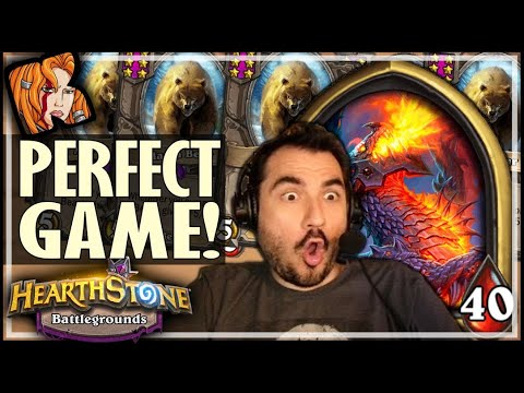PERFECT GAME IN THIS META?! - Hearthstone Battlegrounds