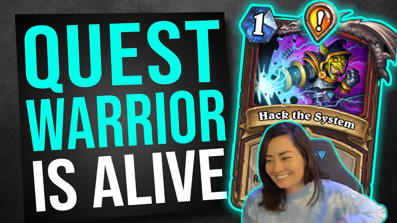 QUEST WARRIOR IS A REAL DECK!   Hearthstone Ashes of Outland