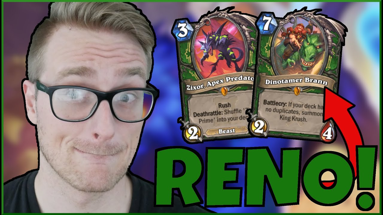 RENO HUNTER is UNSTOPPABLE (EZ Wins) | Ashes of Outland | Wild Hearthstone