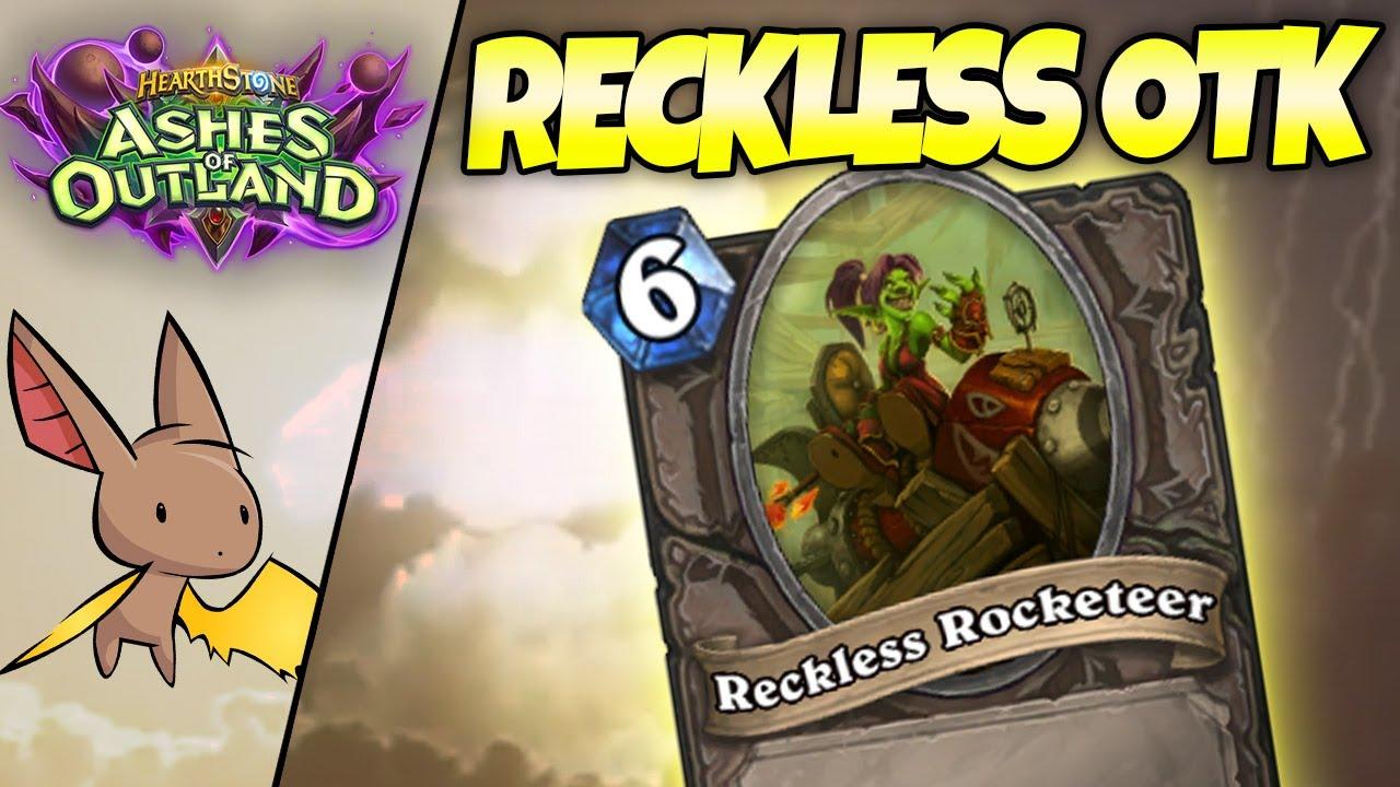 Reckless Rocketeer Priest - the Next Rank 1 Legend Deck ft. Zananananan | Firebat Hearthstone | AoO