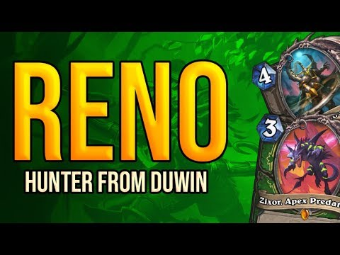 Reno Hunter from Duwin | Ashes of Outland | Wild Hearthstone