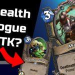 STEALTH ROGUE OTK DECK ... kinda | Hearthstone