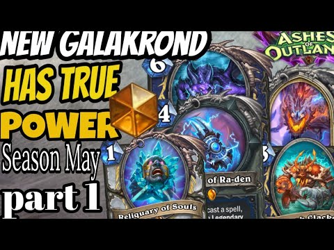 Season May *Finaly perfect Galakrond Shaman that Beats most annoying deck (Ashes of Outland)