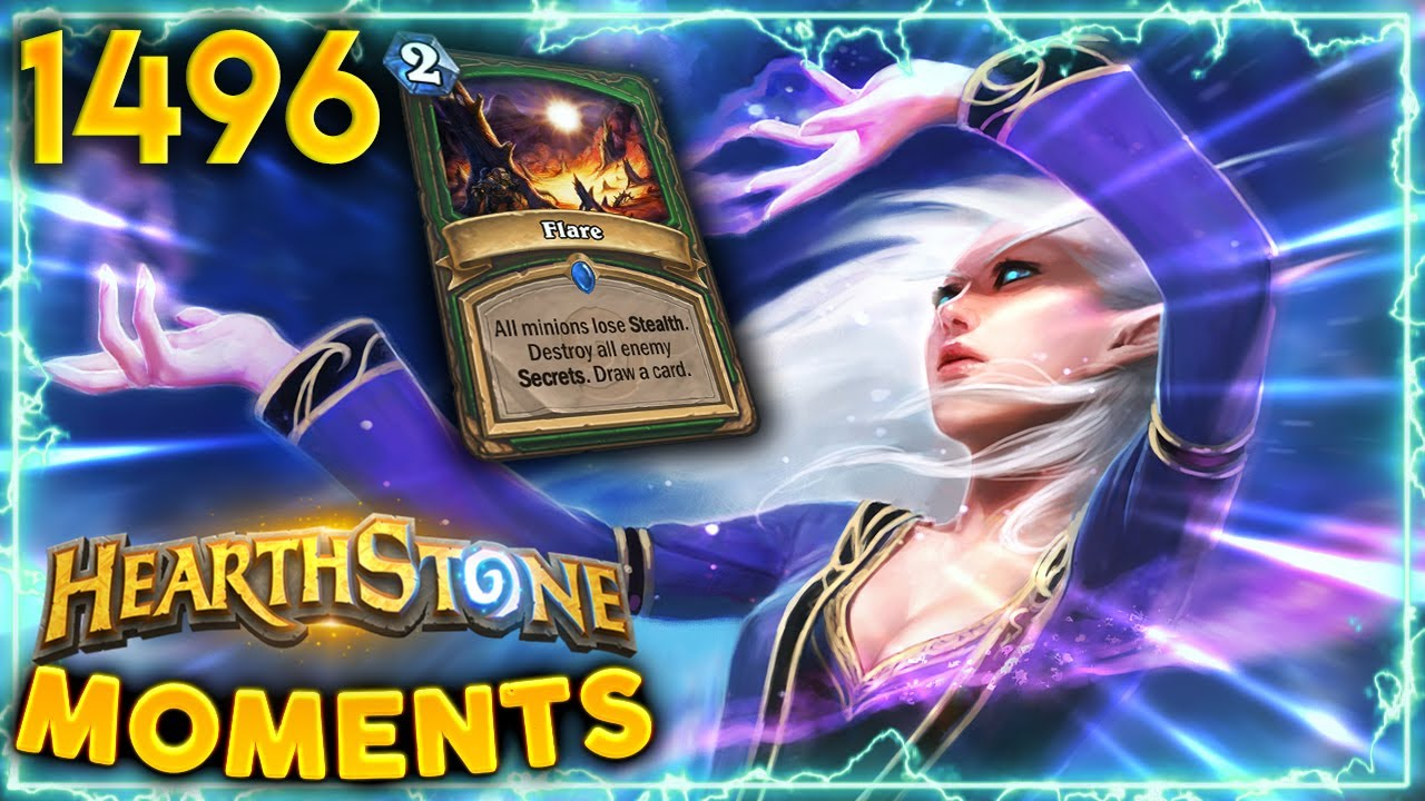 Should You ALWAYS Test For Counterspell...? | Hearthstone Daily Moments Ep.1496