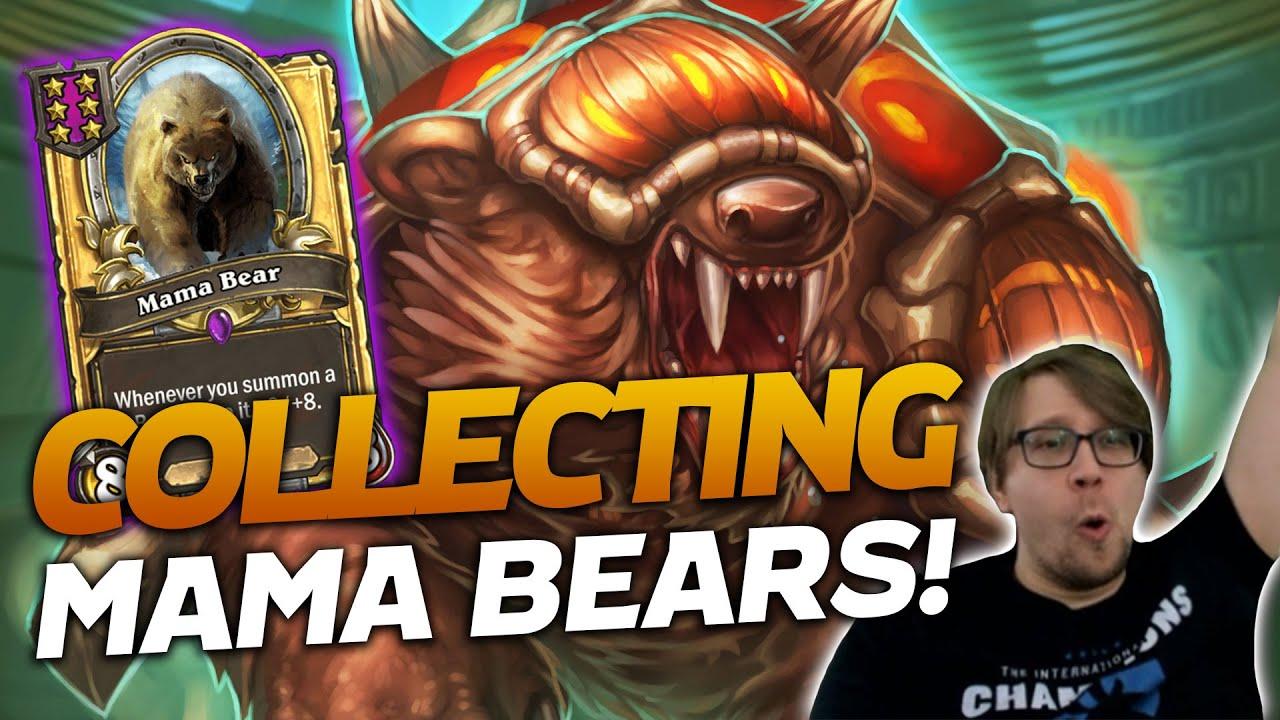 Starting My Mama Bear Collection! | Hearthstone Battlegrounds | Savjz