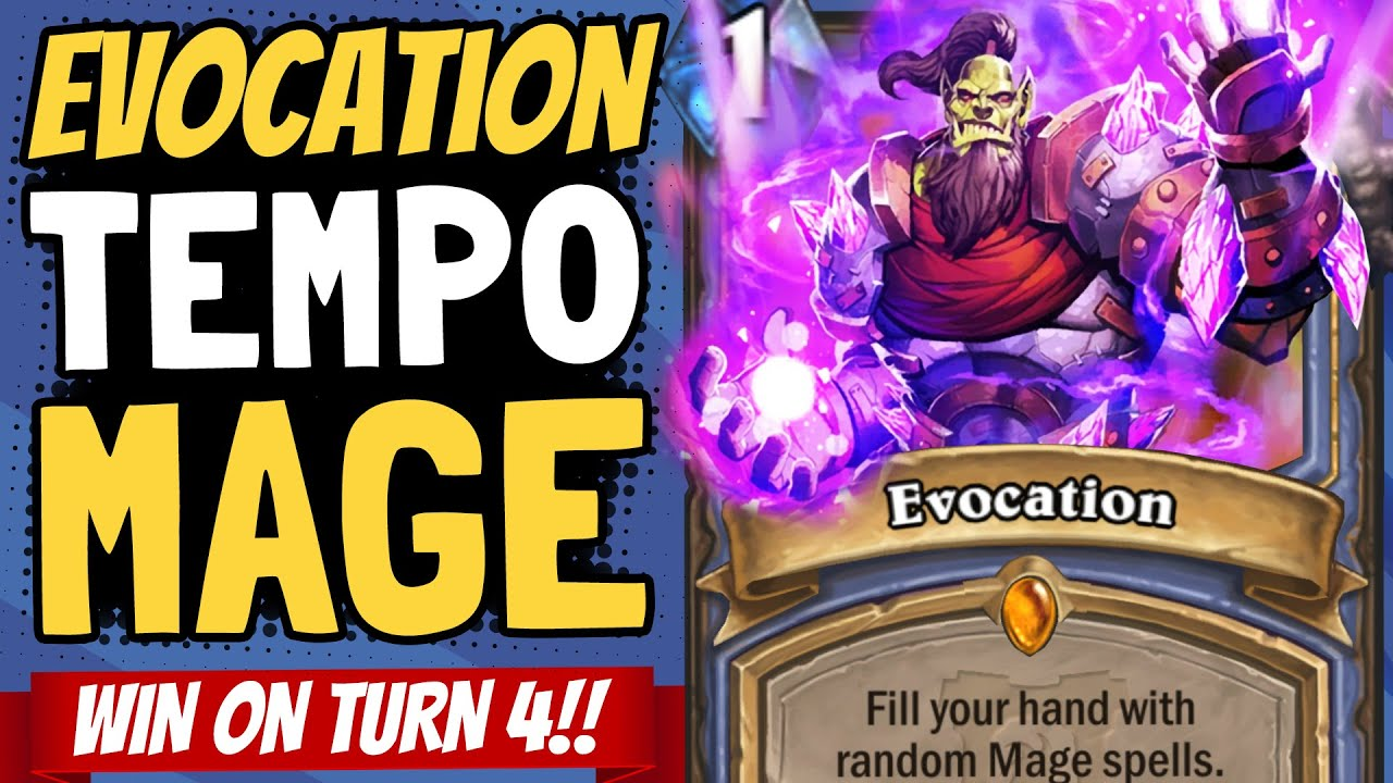 TEMPO MAGE IS BACK!! Is This the Most Broken Turn in Standard? | Ashes of Outland | Hearthstone