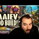 THE MAIEV GOD BUILD?! - Hearthstone Battlegrounds