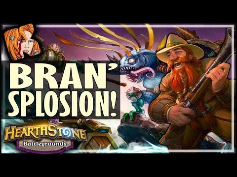 THE MURLOC BRAN'SPLOSION! - Hearthstone Battlegrounds