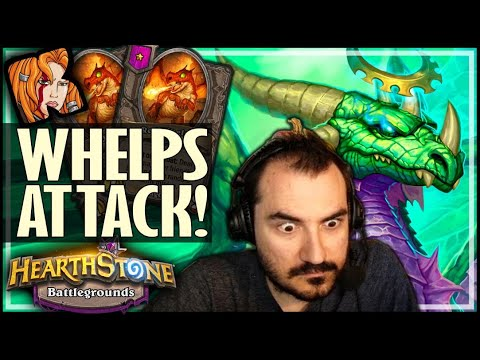 TURNING WHELP BUILD INTO A CHAMPION! - Hearthstone Battlegrounds
